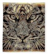 Golden Look Fleece Blanket