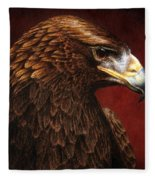 Golden Look Golden Eagle Fleece Blanket