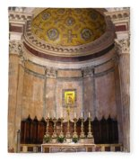 Golden Pantheon Altar Fleece Blanket