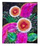 Golden-pink Fleece Blanket
