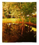 Golden Pond 4 Fleece Blanket