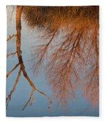 Golden Reflections Fleece Blanket