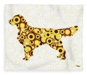 Golden Retriever - Animal Art Fleece Blanket