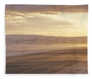 Golden Road Fleece Blanket