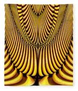 Golden Slings Fleece Blanket