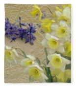 Golden Spring Fleece Blanket