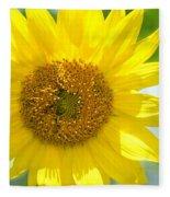 Golden Sunflower - 2013 Fleece Blanket