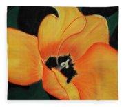 Golden Tulip Fleece Blanket