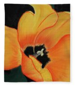 Golden Tulip Fleece Blanket