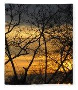 Golden Twilight 2 Fleece Blanket