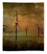 The Golden Winds Blew The Stars Fleece Blanket