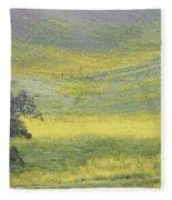 Goldenrod Oak Santa Ynez California 3 Fleece Blanket