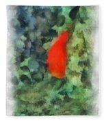 Goldfish Photo Art 04 Fleece Blanket