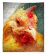 Goldie's Turn - Silk Paint Fleece Blanket