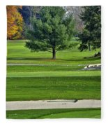 Golf Course Guardians Fleece Blanket
