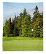 Golf Course Fleece Blanket