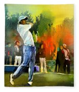 Golf In Gut Laerchehof Germany 01 Fleece Blanket