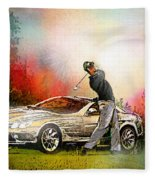 Golf In Gut Laerchehof Germany 03 Fleece Blanket