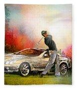 Golf In Gut Laerchehof Germany 03 Fleece Blanket