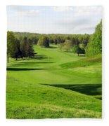 Golfer's Dream Fleece Blanket