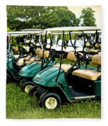 Golfers Take Your Pick Fleece Blanket
