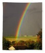 Gonzalo Rainbow Fleece Blanket