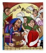 Good And Faithful Servant Fleece Blanket