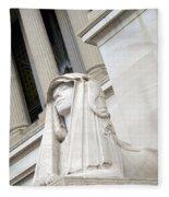 Good Day Sweetie -- A Friendly Sphinx Fleece Blanket