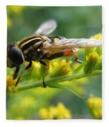 Good Guy Hoverfly  Fleece Blanket