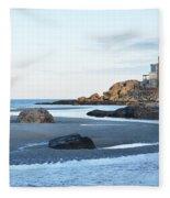 Good Harbor Beach Fleece Blanket
