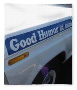 Good Humor Ice Cream Truck 03 Fleece Blanket
