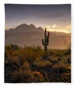 Good Morning Arizona Fleece Blanket