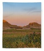 Good Morning Badlands II Fleece Blanket