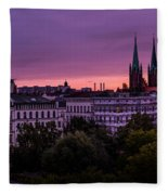 Good Morning Berlin Fleece Blanket