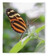 Good Morning Butterfly Fleece Blanket
