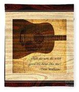 Good Ole Boys - Don Williams Fleece Blanket