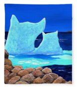 Goodbye Greenland Fleece Blanket