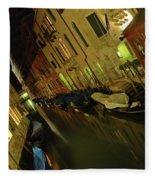 Goodnight Gondola Fleece Blanket