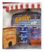 Goofy Water Disneyland Toontown Photo Art 02 Fleece Blanket