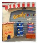 Goofy Water Disneyland Toontown Fleece Blanket