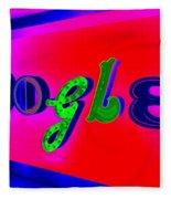 Google's Hallway Fleece Blanket