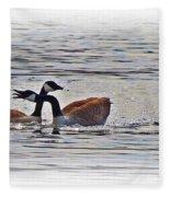 Goose Crossing Fleece Blanket