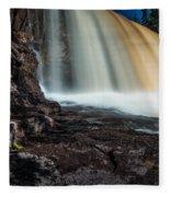 Gooseberry Falls Fleece Blanket
