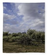 Gorgeous Cloud Cover Fleece Blanket