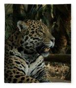 Gorgeous Jaguar Fleece Blanket