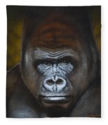Gorilla Fleece Blanket