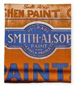 Goshen Paint Company Fleece Blanket