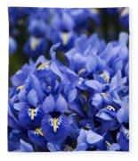 Got The Iris Blues Fleece Blanket