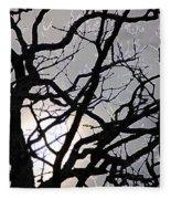 Goth Tree Fleece Blanket