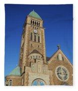 Gothenburg Church 07 Fleece Blanket